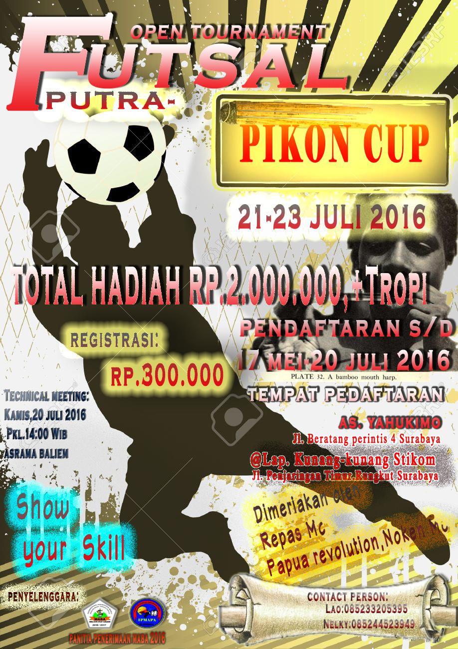 Undangan Peserta Turnamen Futsal Pikon Cup