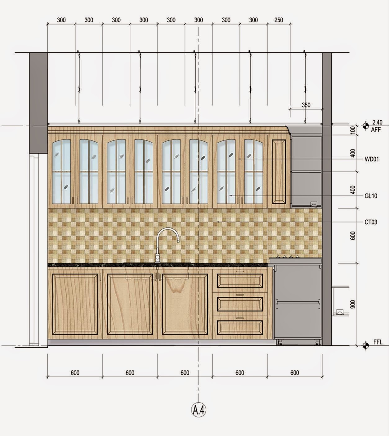 Kitchen Design Elevation: September 2016